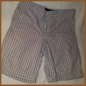 Calvin Klein Plaid Khaki Colored Shorts